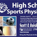Sport Physical Day – Sat. 4/25