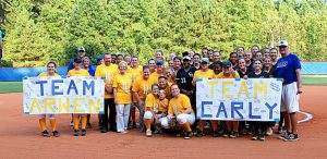 Softball GOLD OUT Ceremony 09 27 2016