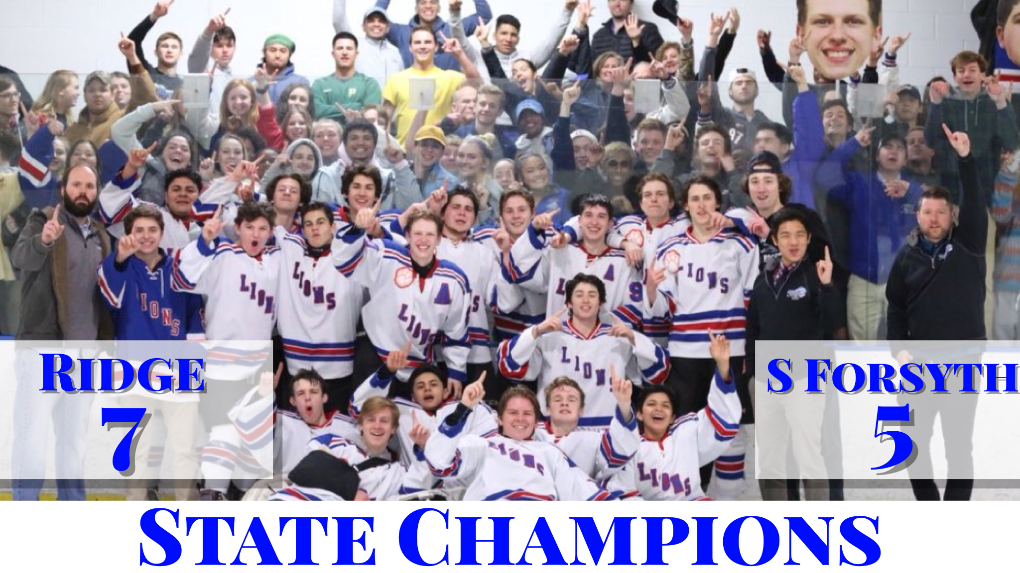 Peachtree Ridge Hockey – STATE CHAMPIONS