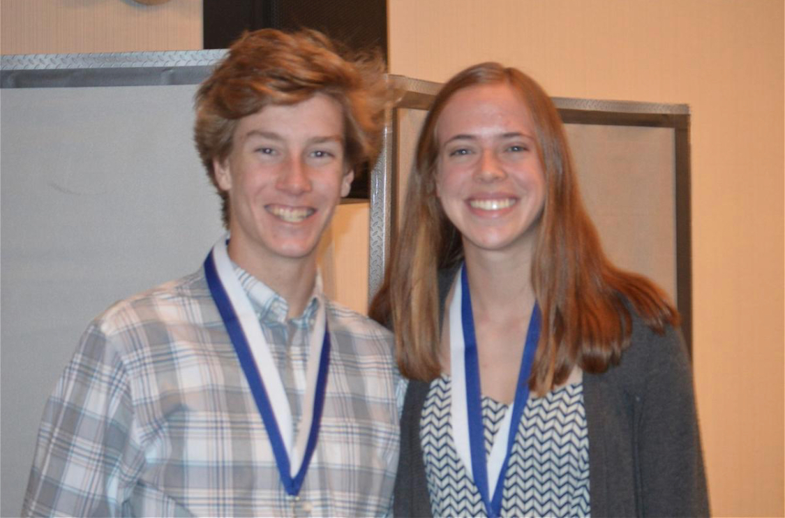 Knott and Stephan Honored as Outstanding Seniors