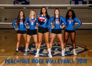 2018 Varsity Volleyball Seniors