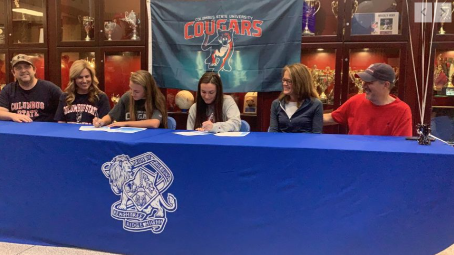 Bryant, Canzoneri Sign with Columbus State Soccer
