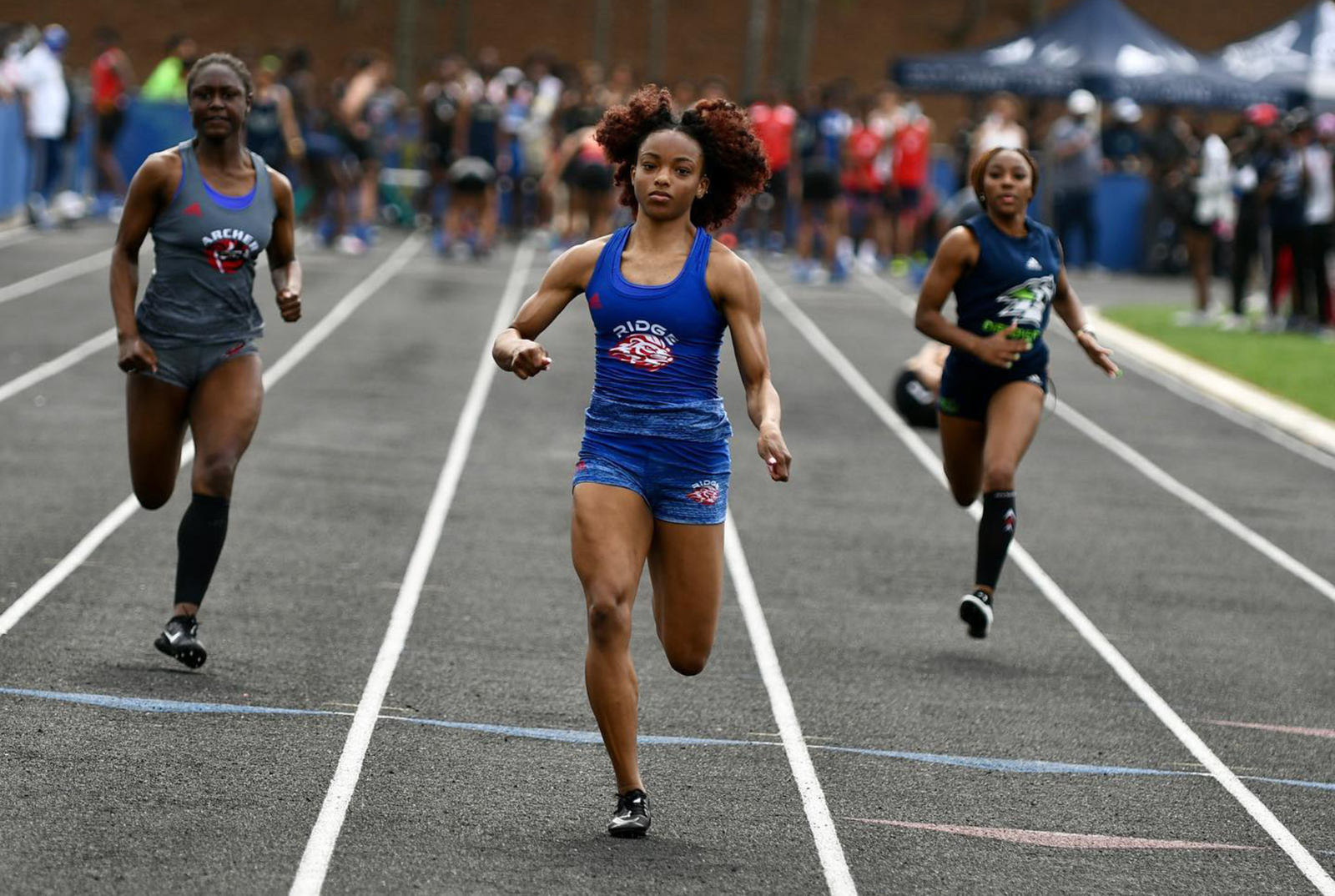 Fuller gets top times in USA