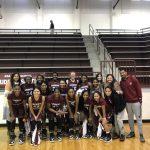 Girls Varsity wins Consolation Championship over Broken Bow