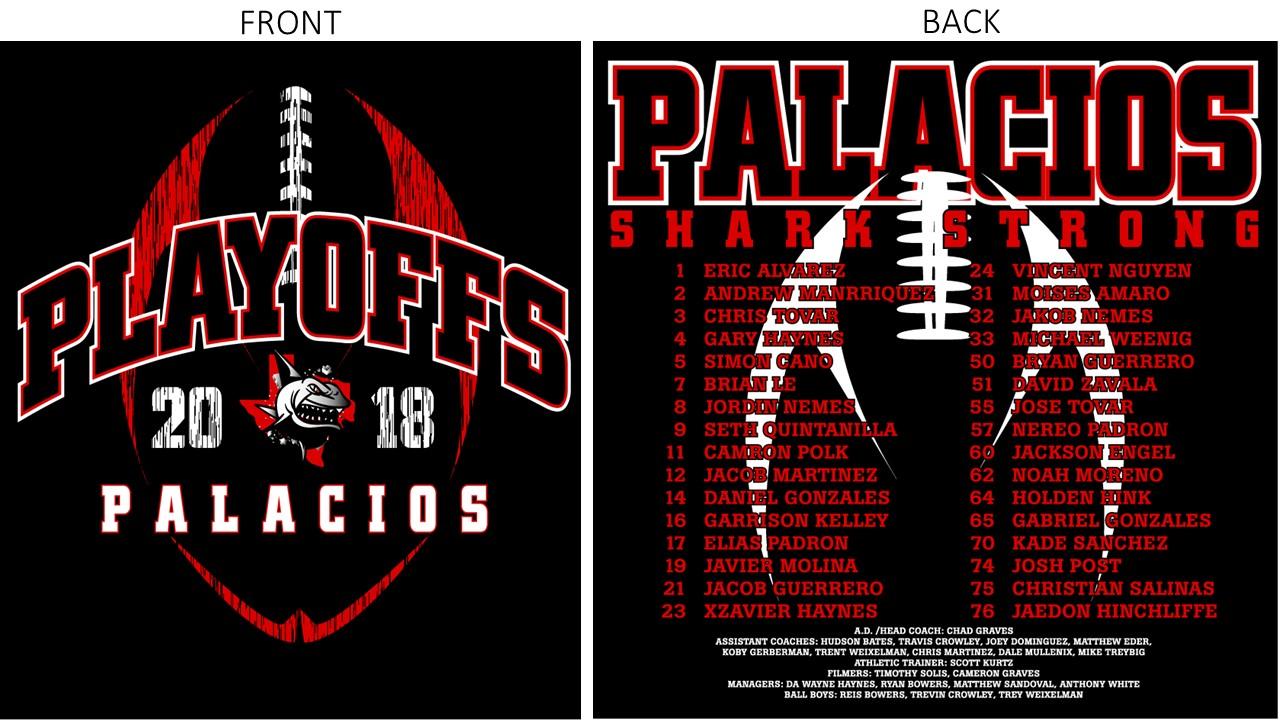 2018 Football Playoff T-Shirts On Sale