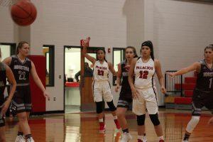 Varsity Girls Basketball vs. Industrial 11/27/18