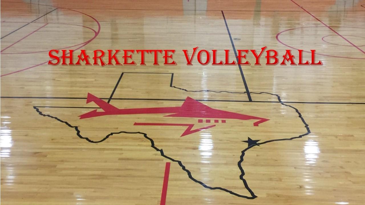 2019 Sharkette Volleyball Schedule