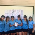 Girls Golf Finishes Second