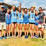 Girls Cross Country finishes 1st place at Coaches Classic