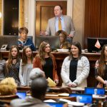 SC Statehouse Visit - Girls Cross Country and Girls Golf