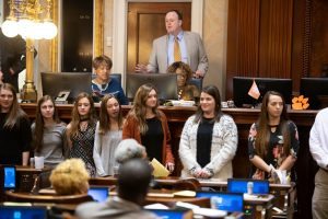 SC Statehouse Visit – Girls Cross Country and Girls Golf