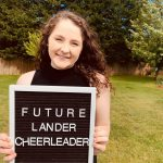 Cheerleader earns scholarship to Lander