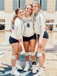 Volleyball Wins on Senior Night