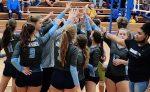 Volleyball Splits Tri-Match