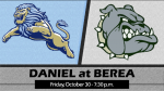 Varsity Football Tickets: Daniel vs. Berea