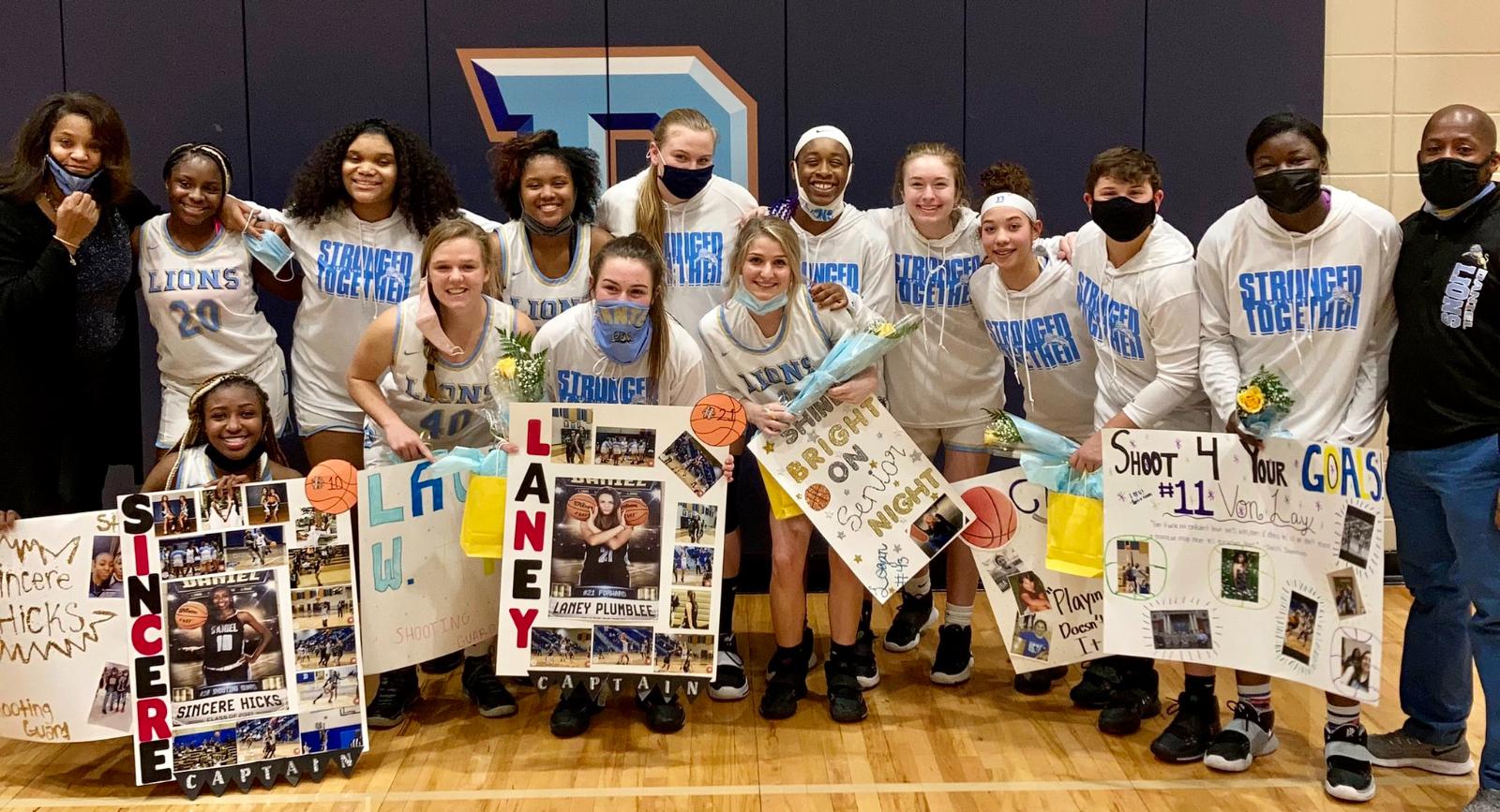 Daniel vs. Wren – Girls Basketball Championship