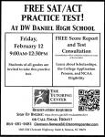 Free ACT/SAT Practice Test