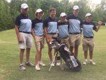 Boys Golf Advances to Upper State Tournament