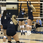 Danes Volleyball continues to improve but falls to West