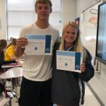 Kilmer, Whitlock Named Athletes of the Month
