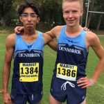 Karthik and Ethan Shine at Region Race