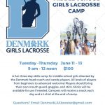 Middle School Girls Lacrosse Camp