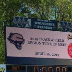 2019 DHS track West Warm up meet