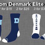 Purchase Your Custom Denmark Elite Socks Today!