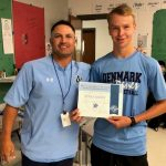 August Male Student-Athlete of the Month