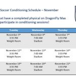 Soccer Conditioning – November
