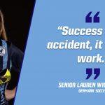 Senior Spotlight – Lauren Williamson