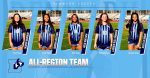Girls Soccer Players Honored