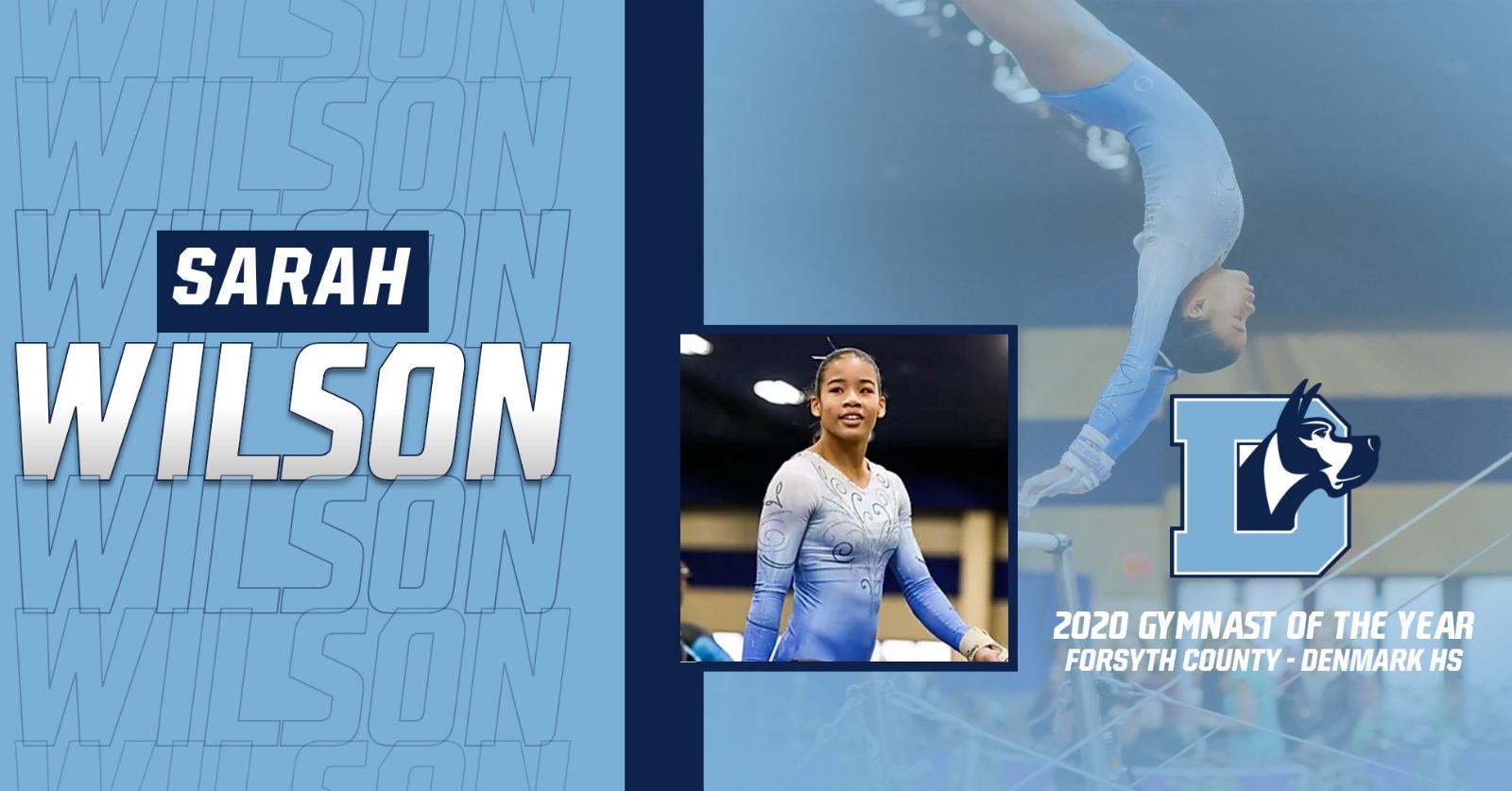 Congrats Sarah Wilson