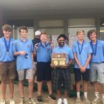 High School Boys Golf Team wins District Championship