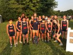 Varsity Cross Country Comes out of the gate fast, Girls take first place at MTAC Week 1