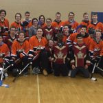 Osseo Hockey Visits Adapted Hockey Practice