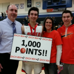 Zach Theisen Reaches 1000 Point Milestone