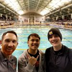 Khoi Pham Competes at State Swim Meet