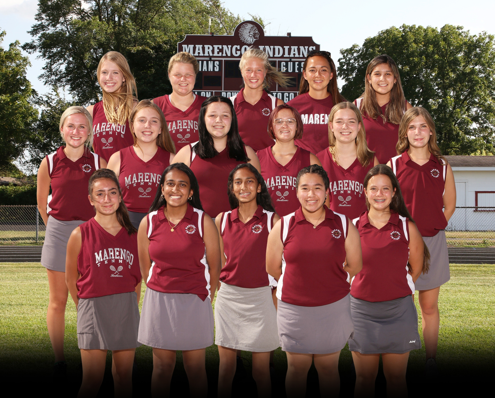 2020 JV Girls Tennis