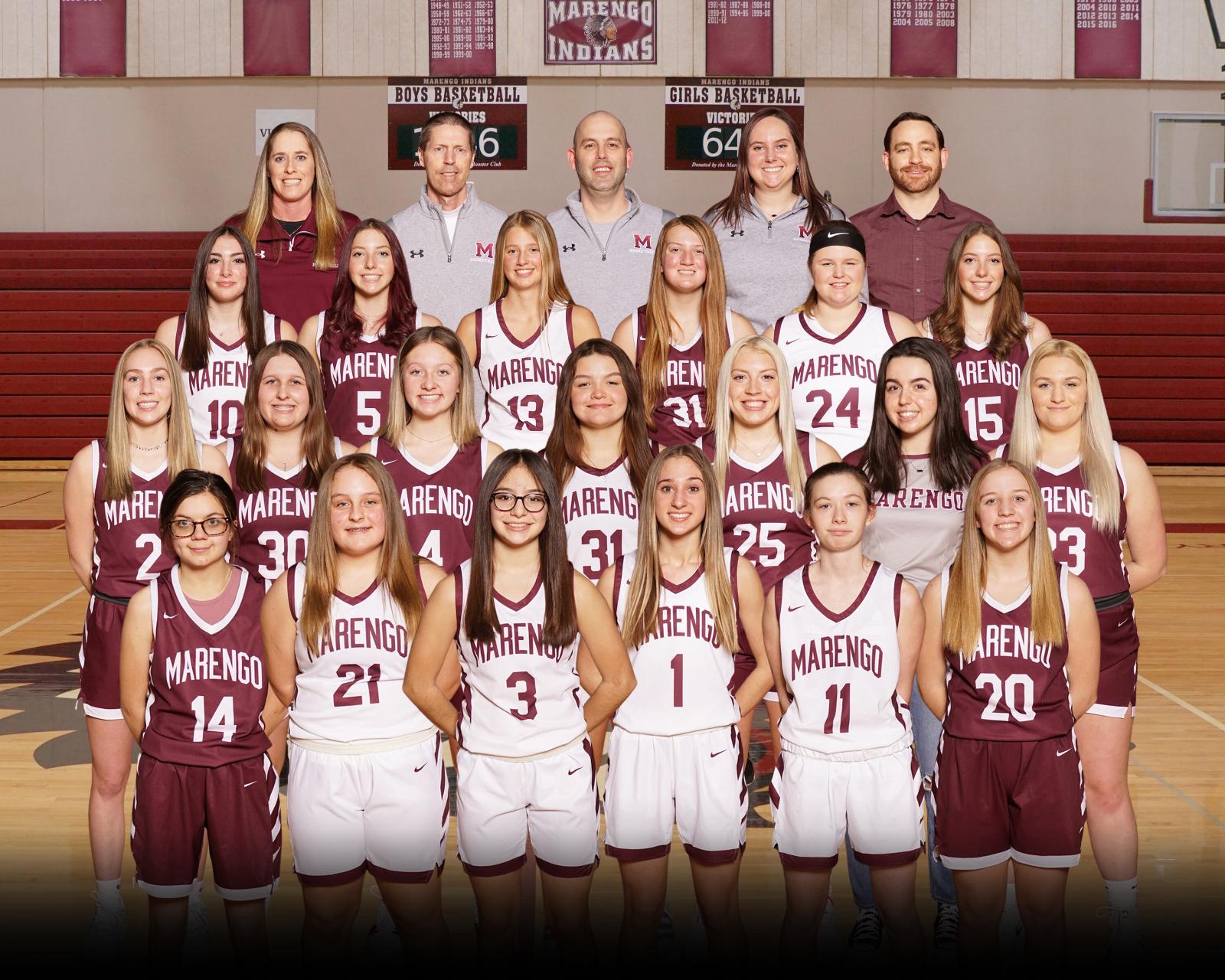 20-21 Girls V/JV/Fr Basketball