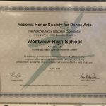 National Honors Society for Dance Arts