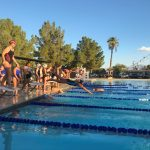 Swim and Dive Takes First at Tolleson, Trivium Meet