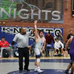 WHS Wrestling team went against Cesar Chavez on Senior Night