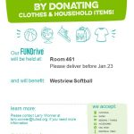 Softball Fundraiser – Donate Clothing / Household Items