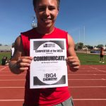 Communicate Character Matters for Boys Track and Field