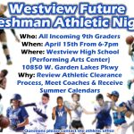 Westview Future Freshman Athletic Night