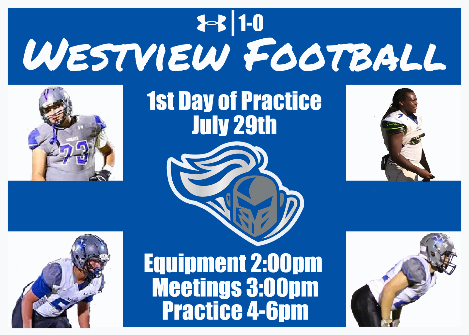 Westview Football Kicks off 2019 season