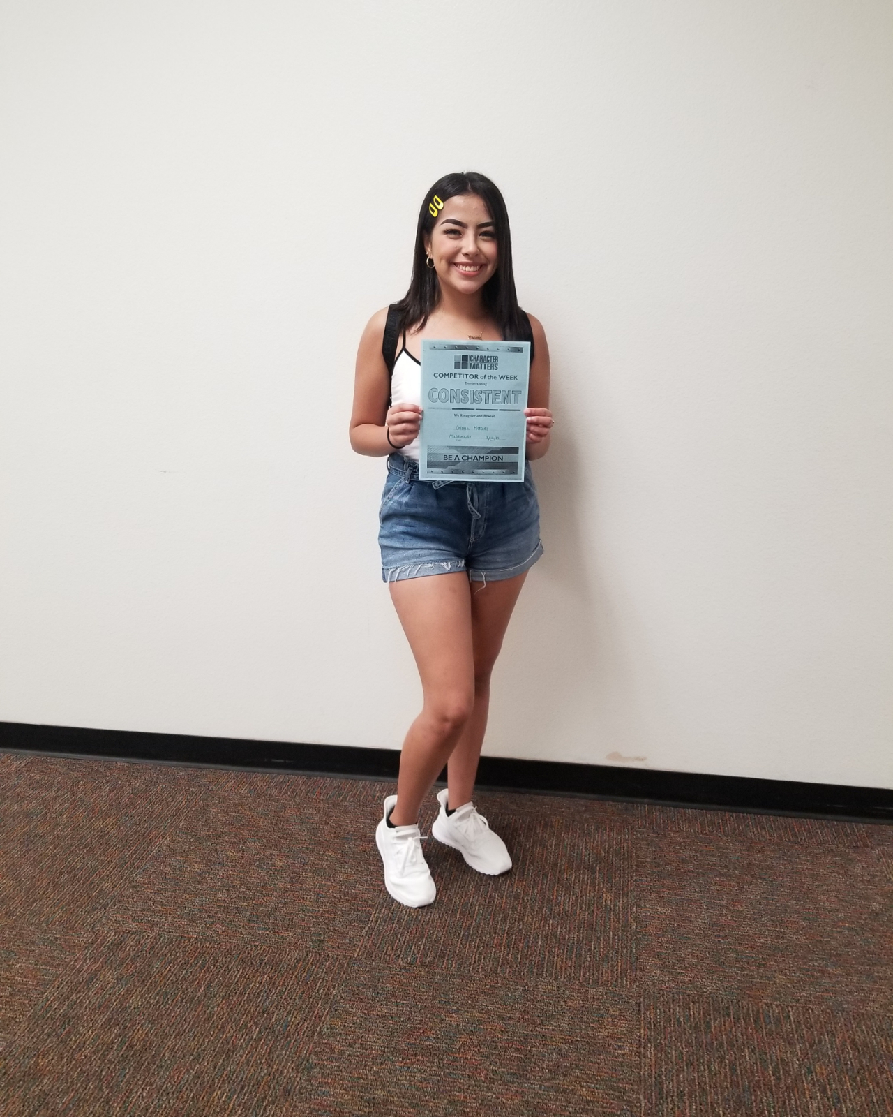Character Matters Pommie, Oriana Morales