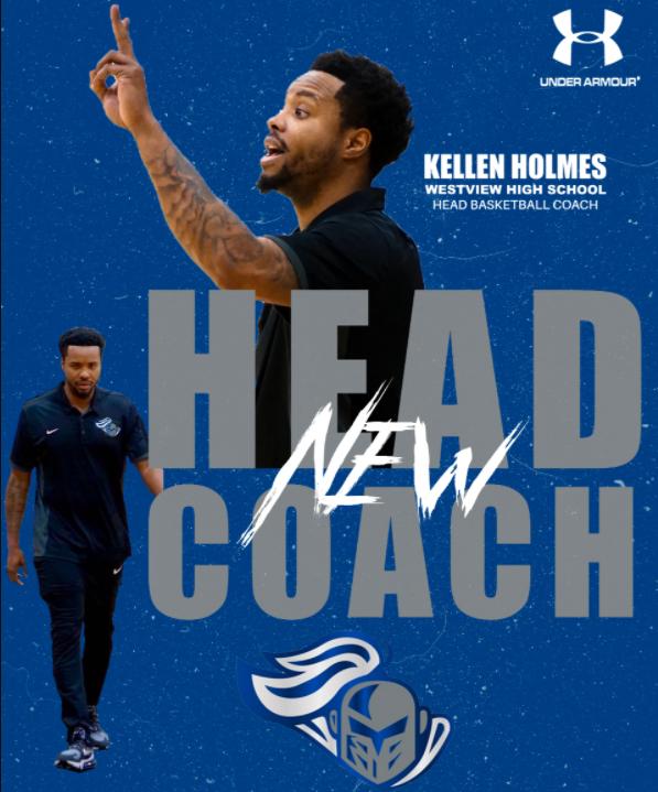 Kellen Holmes Announced New Head Coach of Boys' Basketball