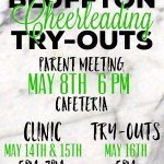 2019-2020 Cheerleading Tryouts